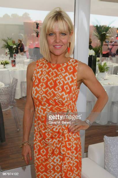 Ashley Jensen attends the Audi Polo Challenge at Coworth Park Polo Club on June 30 2018 in Ascot England