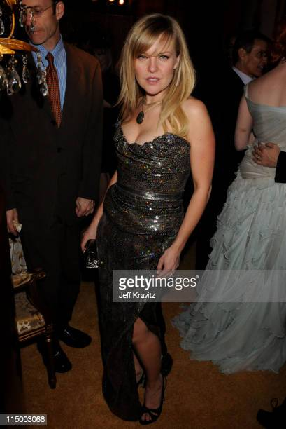 Ashley Jensen attends the HBO after party for the 14th Annual Screen Actor's Guild Awards at the Shrine Auditorium on January 27 2008 in Los Angeles...