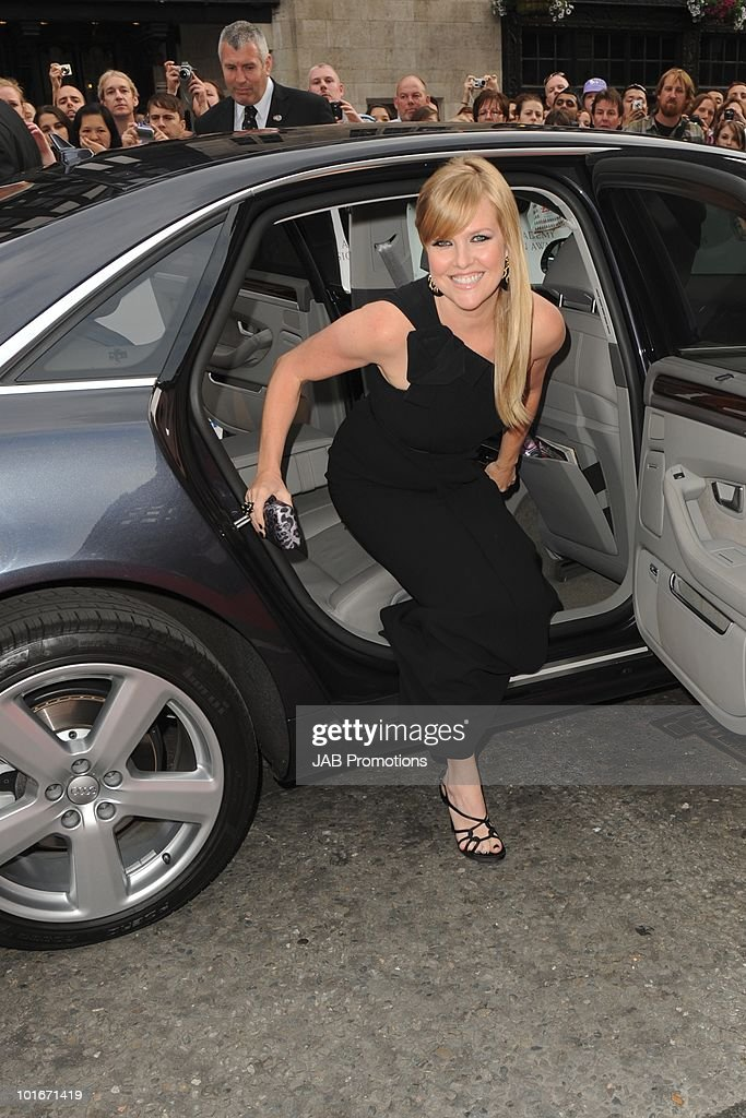 Ashley Jensen attends the Philips British Academy Television awards (BAFTA) at London Palladium on June 6, 2010 in London, England.