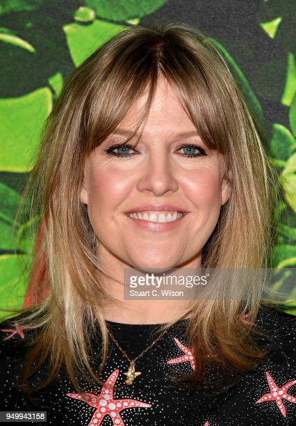 Ashley Jensen attends the 'Sherlock Gnomes' London Family Gala hosted by Sir Elton John and David Furnish at Cineworld Leicester Square on April 22...