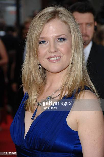 Ashley Jensen during The 2006 British Academy Television Awards Arrivals at Grosvenor House in London Great Britain