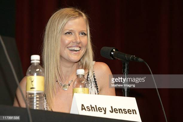 Ashley Jensen during The Academy of Television Arts Sciences Presents An Evening with 'Ugly Betty' Panel at Leonard H Goldenson Theatre in North...