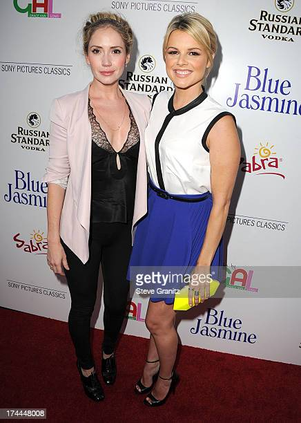 Ashley Jones and Ali Fedotowsky arrives at the Sony Pictures Classics Presents Los Angeles Premiere Of 'Blue Jasmine' at the Academy of Motion...