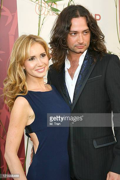 Ashley Jones and Constantine Maroulis during SOAPnet Hosts Night Before Party for the 2007 Daytime Emmy Award Nominees at Boulevard3 in Hollywood...