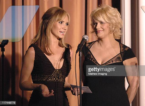 Ashley Jones and Kristy Swanson during The 11th Annual PRISM Awards - Award Ceremony at Beverly Hills Hotel in Beverly Hills, California, United...