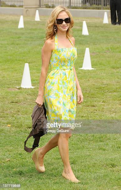 Ashley Jones arrives at the 21st Annual A Time For Heroes Celebrity Picnic sponsored by Disney to benefit The Elizabeth Glaser Pediatric AIDS...