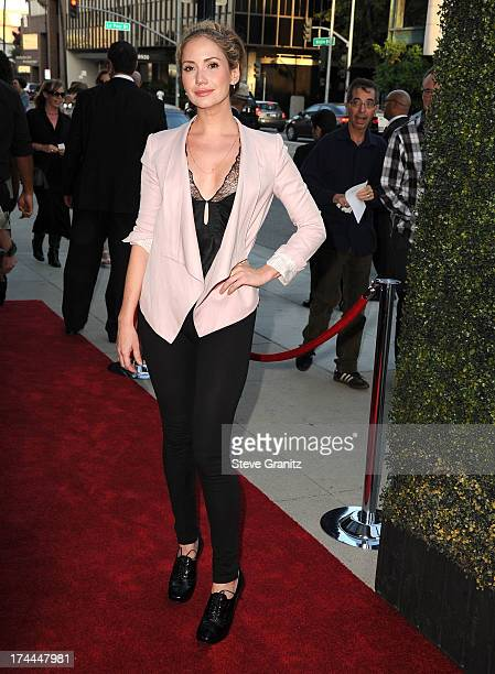 Ashley Jones arrives at the Sony Pictures Classics Presents Los Angeles Premiere Of 'Blue Jasmine' at the Academy of Motion Picture Arts and Sciences...