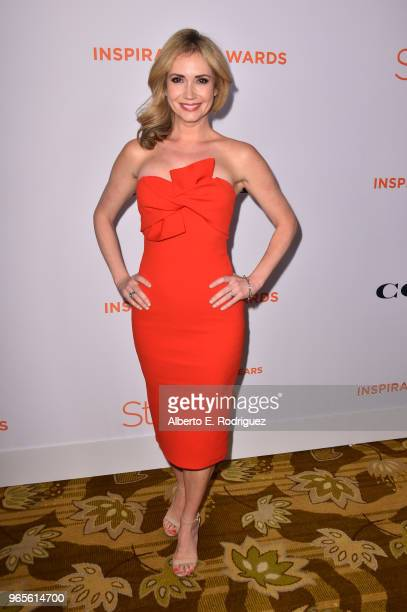 Ashley Jones attends Step Up's 14th annual Inspiration Awards at the Beverly Wilshire Four Seasons Hotel on June 1 2018 in Beverly Hills California