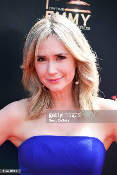 Ashley Jones attends the 46th annual Daytime Emmy Awards at Pasadena Civic Center on May 05 2019 in Pasadena California