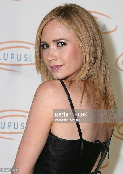 Ashley Jones during Hollywood Bag Ladies Lupus Luncheon Honoring Carrie Brillstein at Beverly Wilshire Hotel in Los Angeles California United States