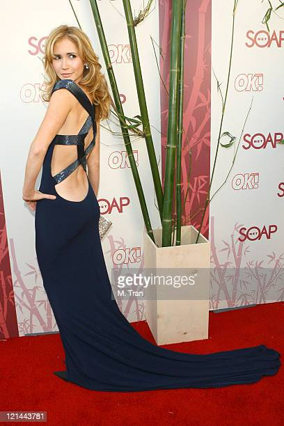 Ashley Jones during SOAPnet Hosts Night Before Party for the 2007 Daytime Emmy Award Nominees at Boulevard3 in Hollywood California United States