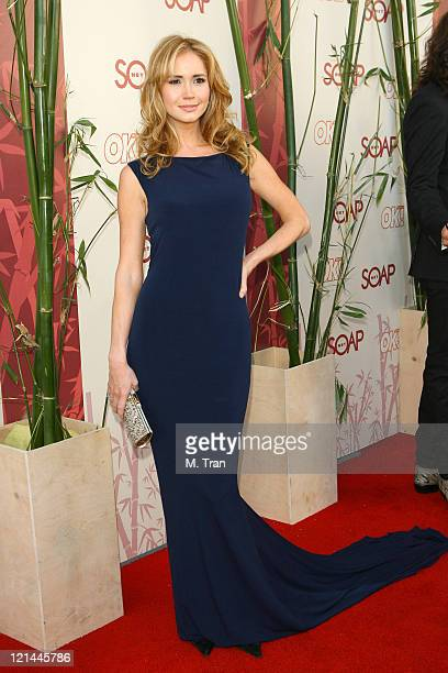 Ashley Jones during SOAPnet Hosts 'Night Before' Party for the 2007 Daytime Emmy Award Nominees at Boulevard3 in Hollywood California United States