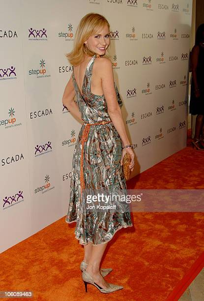 Ashley Jones during Step Up Women's Network Inspiration Awards Sponsored by Escada Arrivals at Beverly Hilton Hotel in Beverly Hills California...
