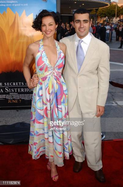 Ashley Judd and Dario Franchitti during Divine Secrets Of The YaYa Sisterhood Premiere at Mann Village Theatre in Westwood California United States