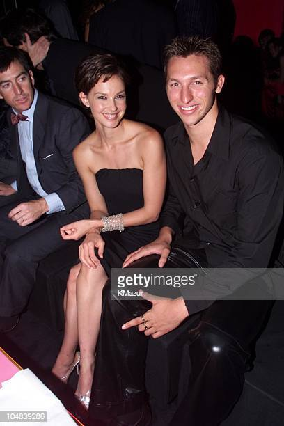 Ashley Judd and Ian Thorpe during Reception to celebrate the opening of 'Giorgio Armani Exhibition' which will run through January 17 2001 at Solomom...