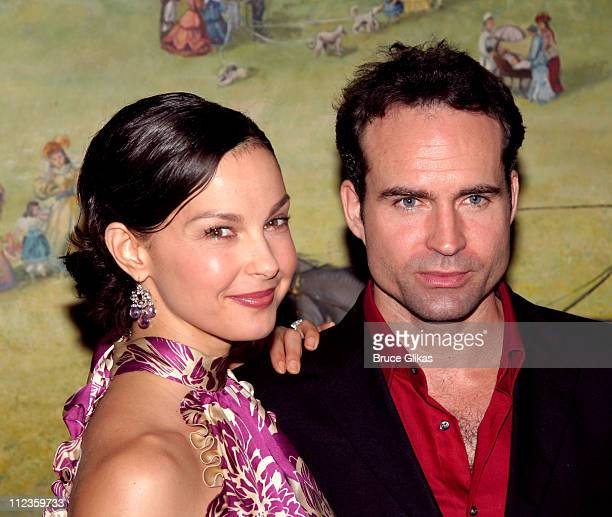 Ashley Judd and Jason Patric during Opening Night of 'Cat on a Hot Tin Roof' on Broadway Arrivals at Tavern on The Green in New York City New York...