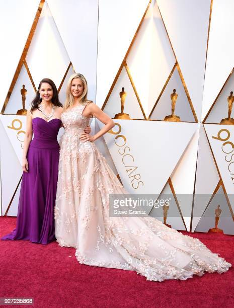 Ashley Judd and Mira Sorvino attend the 90th Annual Academy Awards at Hollywood Highland Center on March 4 2018 in Hollywood California