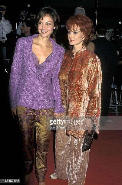 """Ashley Judd and Naomi Judd during """"Alien Resurrection"""" Los Angeles Premiere at Mann Village Theatre in Westwood, California, United States."""