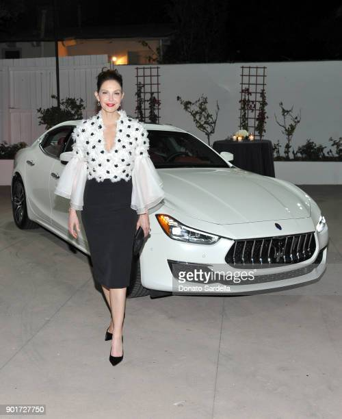 Ashley Judd attends Esquire and the Medavoys host a party to celebrate the Golden Globes presented by Maserati at Private Residence on January 5 2018...