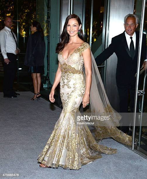 Ashley Judd attends the 2015 CFDA Fashion Awards at Alice Tully Hall at Lincoln Center on June 1 2015 in New York City