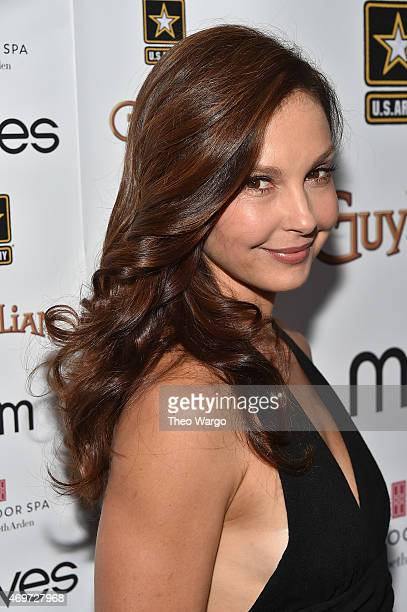 Ashley Judd attends the 2015 Moves Power Forum at Red Door Spa on April 14 2015 in New York City