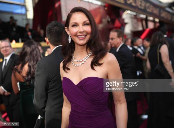Ashley Judd attends the 90th Annual Academy Awards at Hollywood Highland Center on March 4 2018 in Hollywood California