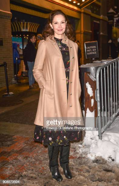 Ashley Judd attends the Sundance Film Festival 2018 on January 20 2018 in Park City Utah