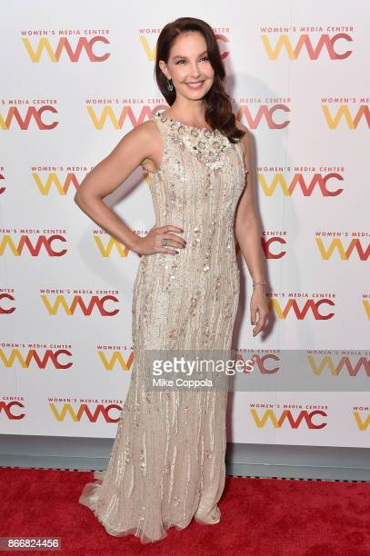 Ashley Judd attends the Women's Media Center 2017 Women's Media Awards at Capitale on October 26 2017 in New York City