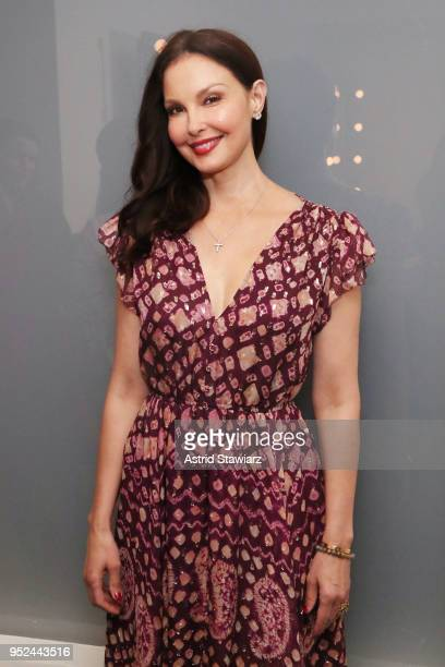 Ashley Judd attends Time's Up during the 2018 Tribeca Film Festival at Spring Studios on April 28 2018 in New York City