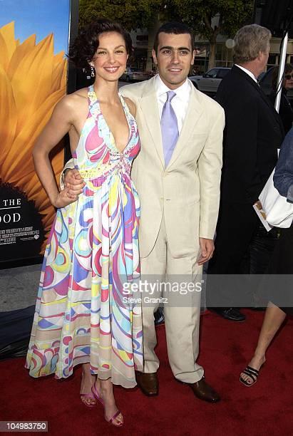 Ashley Judd Dario Franchitti during Divine Secrets Of The YaYa Sisterhood Premiere at Mann Village Theatre in Westwood California United States