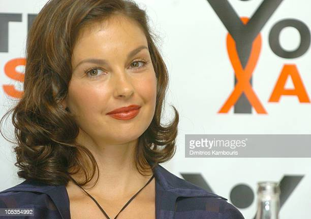 Ashley Judd during 2004 Youth Aids Discussion with Ashley Judd at Thompson Hotel in New York City New York United States