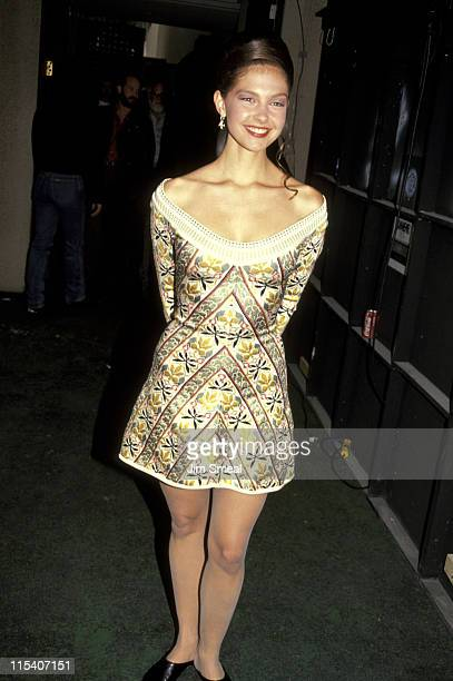 Ashley Judd during 26th Annual Academy of Country Music Awards at Universal Amphitheater in Universal City California United States