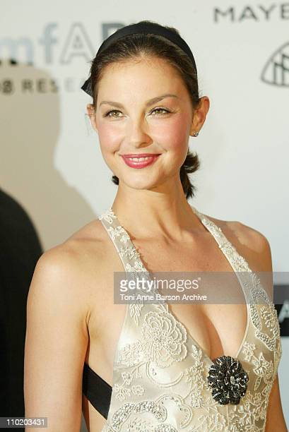 Ashley Judd during amfAR's 'Cinema Against AIDS Cannes' Benefit Sponsored by Miramax and Quintessentially Arrivals at Moulin De Mougins in Cannes...
