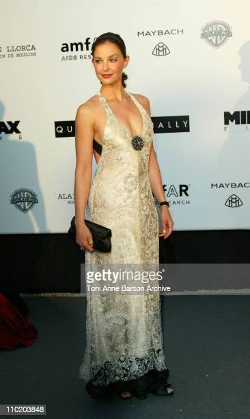 """Ashley Judd during amfAR's """"Cinema Against AIDS Cannes"""" Benefit Sponsored by Miramax and Quintessentially - Arrivals at Moulin De Mougins in Cannes,..."""