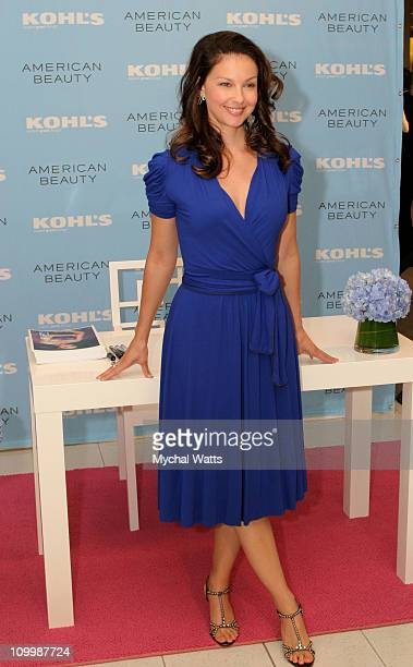 Ashley Judd during Ashely Judd Hosts Autograph Signing as Spokesperson for the American Beauty Skincare and Cosmetics Line at Kohl's in Jersey City...