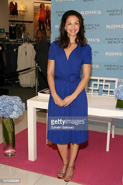 Ashley Judd during Ashley Judd Autograph Signing to Promote Her Fragrance American Beauty 'Wonderful Indulgence' October 11 2006 at Kohl's in Jersey...