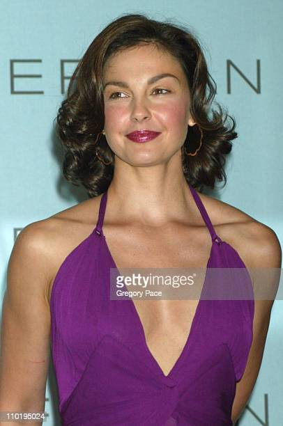 Ashley Judd during Ashley Judd Signed as Face of Estee Lauder's American Beauty at The Carlyle Hotel in New York City New York United States