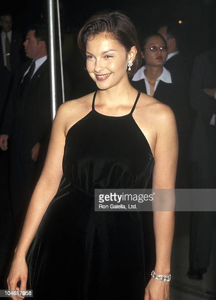 Ashley Judd during Giorgio Armani Party at Lexington Armory in New York City New York United States