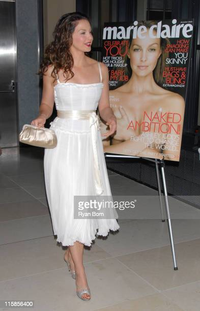 """Ashley Judd during Marie Claire Hosts a Special Screening of Ashley Judd and Youthaids """"Confronting the Pandemic"""" at Hearst Tower in New York City,..."""
