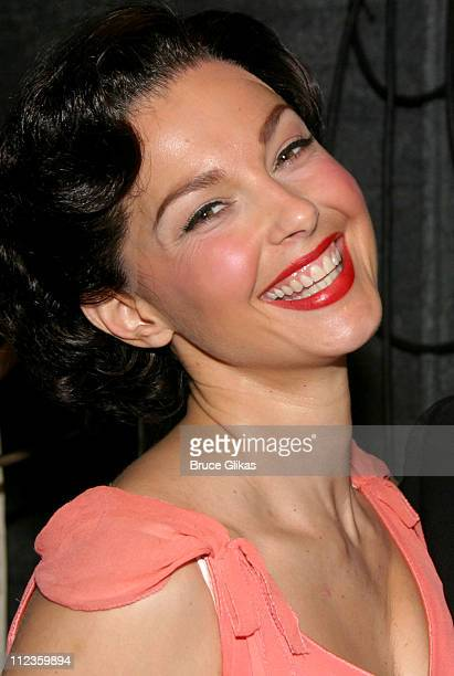 Ashley Judd during Opening Night of 'Cat on a Hot Tin Roof' on Broadway Stage and Backstage at The Music Box Theater in New York City New York United...