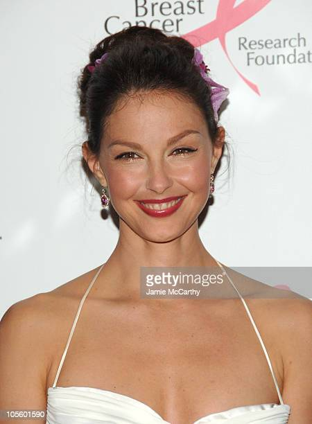 Ashley Judd during The Breast Cancer Research Foundation Presents The Very Hot Pink Party at The Waldorf Astoria in New York City New York United...