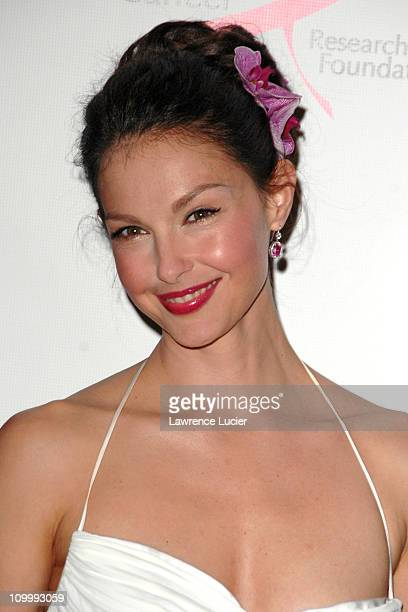 Ashley Judd during The Breast Cancer Research Foundation Presents The Very Hot Pink Party April 10 2006 at Waldorf Astoria in New York City New York...
