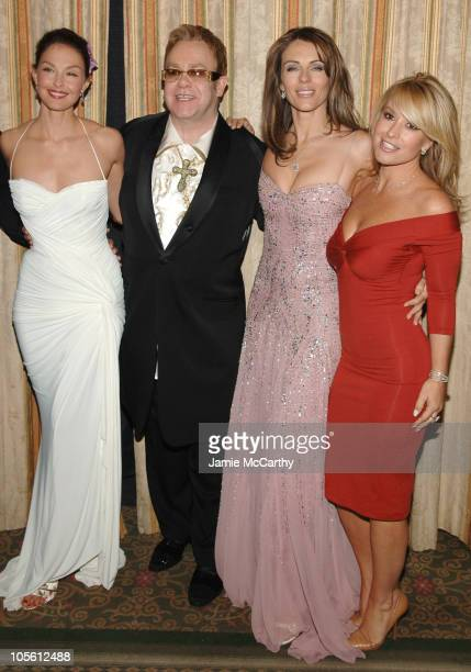 Ashley Judd Elton John Elizabeth Hurley and Anastacia