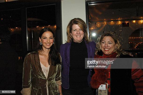 Ashley Judd Judy Barry and Lucy Webb attend Sundance Filmfestival/ 'Leonard Cohen I'm your Man' Party sponsored by The Wall Street Journal at Park...
