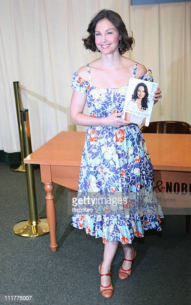 Ashley Judd promotes her new book All Things Bitter and Sweet A Memoir at Barnes Noble 5th Avenue on April 6 2011 in New York City
