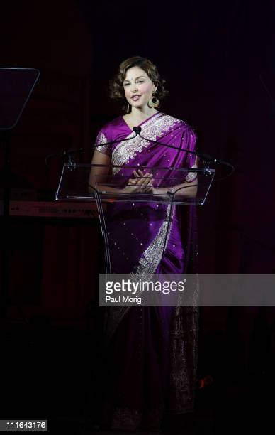 Ashley Judd YouthAIDS Global Ambassador at the YouthAIDS Gala Faces of India at the RitzCarlton Tysons Corner on November 2 2007 in Mclean VA