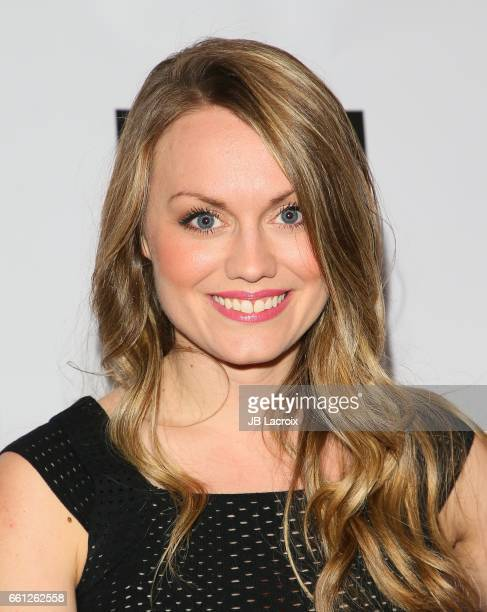 Ashley Kate Adams attends premiere of Meritage Pictures' 'Pitching Tents' on March 30 2017 in Santa Monica California