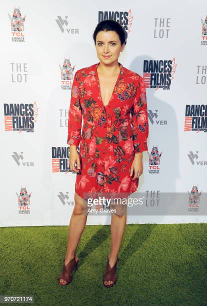 Ashley Lenz attends the Right and Left Studios World Premiere of End Trip at Dances With Films Festival at TCL Chinese Theatre on June 9 2018 in...