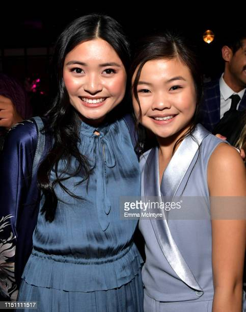 Ashley Liao and Miya Cech attend the afterparty for the world premiere of Netflix's 'Always Be My Maybe' at STK on May 22, 2019 in Westwood,...