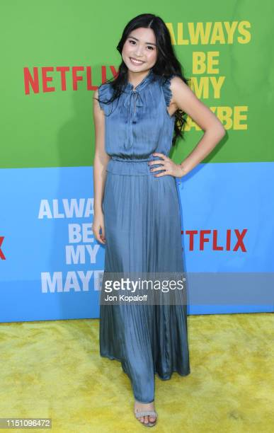 Ashley Liao attends the Premiere Of Netflix's Always Be My Maybe at Regency Village Theatre on May 22 2019 in Westwood California